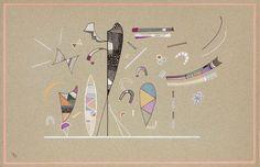 Wassily Kandinsky, Senza titolo Gouache su carta, cm. 33x51 Stima € 270.000 / 350.000 lotto 583