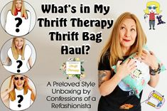 Wanna find out What's in my Thrift Therapy Thrift Bag? Check out the unboxing video + discover how you can get your own personalized preloved style package from Thrift Therapy too! Second Hand Shop Online, My Confession, Floral Frocks, Lifestyle Articles, Brown Belt, Vintage Wool, Refashion, Confessions, Thrifting