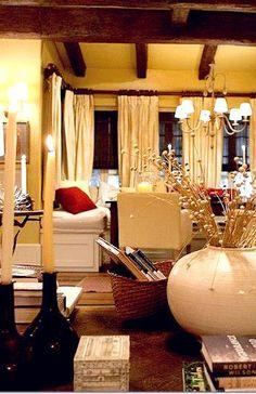 Inside Bella and Edward's cottage