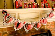 Kaminski's Creations: Valentine's Banner