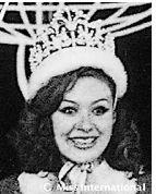 Miss International 1975: Yugoslavia - Lidija Manić