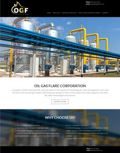 Simple small business site for OGF Canadian Oil Gas Zero Flaring Corp.. Uses the Ubertor CMS.