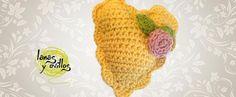 vintage crochet heart free pattern patrón gratis
