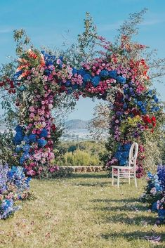 18 Natural Wedding Decor Ideas ❤️ natural wedding décor outdoor ceremony arch with bright volume flowers allforlovelondon Ceremony Backdrop, Wedding Ceremony, Wedding Venues, Outdoor Ceremony, Wedding Ideas, Wedding Blog, Wedding Arbors, Wedding Backdrops, Miami Wedding