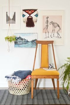 Sew, braid, or paint a few eye-catching rugs. | 21 Cheap And Easy Decorating Tricks For Renters