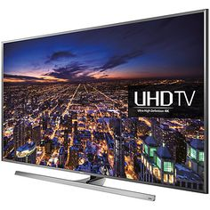 """Buy Samsung UE48JU7000 LED 4K Ultra HD 3D Smart TV, 48"""" with Freeview HD/freesat HD and Built-in Wi-Fi Online at johnlewis.com"""