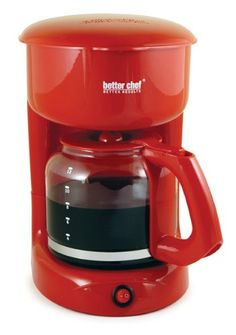 Special Offers - Better Chef 12-Cup Coffee Maker Red For Sale - In stock & Free Shipping. You can save more money! Check It (November 30 2016 at 05:26PM) >> http://dripcoffeemakerusa.net/better-chef-12-cup-coffee-maker-red-for-sale/