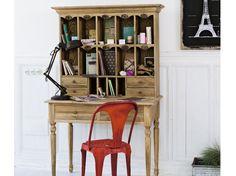 Bureau bois brut projets à essayer bureau bois