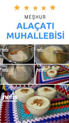 Turkish Recipes, Italian Recipes, Vegan Recipes, Delicious Desserts, Dessert Recipes, Yummy Food, Turkish Sweets, Milk Dessert, Pastry And Bakery