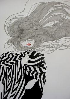 Fashion illustration // Lisa Murphy