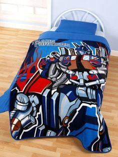 From 6.99 Transformers Fleece Blanket