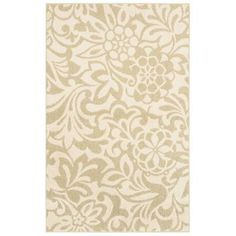 Mohawk Simpatico Biscuit Starch 8 ft. x 10 ft. Area Rug-301293 at The Home Depot
