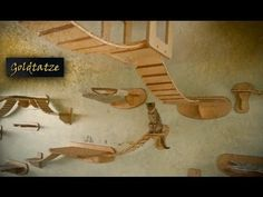 Video - Amazing cat furniture will have your cat climbing the walls and ceiling Crazy Cat Lady, Crazy Cats, Diy Cat Tree, Cat Trees, Cat Climbing Tree, Cat Perch, Wood Cat, Cat Enclosure, Cat Condo