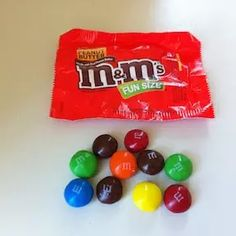 Object Lessons with M&Ms Candy