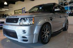 2010 Range Rover Sport TDV6 HSE 3.0 auto estate. Silver. Fantom 14-piece body kit. FSH. Click on pic shown for loads more.