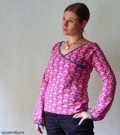 tausendbunt_floralhearts: Shirt oder Kleid by #allerlieblichst