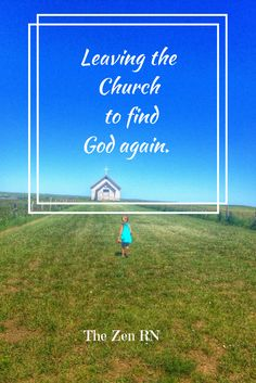 A woman leaves the church she attended for many years and finds that her faith is stronger than ever.