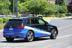 "Intel's New ""Garage"" in San Jose and a Delphi Self Driving Audi"