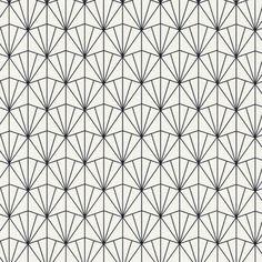 "Found it at Wayfair - Modern 33' x 20.8"" Geometric Fan Wallpaper"