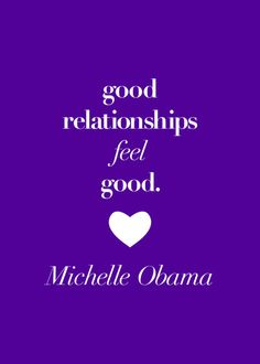 Inspiring quote from Michelle Obama.