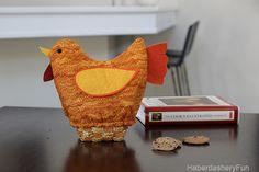 DIY.. Quilted Turkey Bread Basket