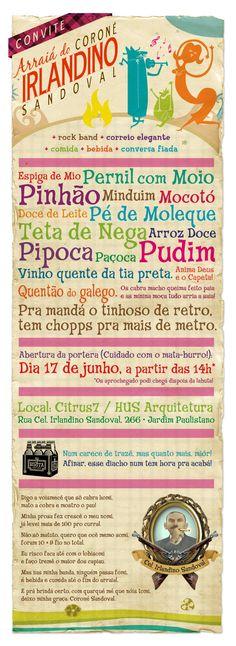Festa Junina - Invitation