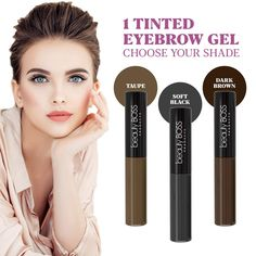 Boho Fashion Long lasting waterproof colored brow gel effortlessly creates the appearance of fuller and thicker brows. Long-lasting Tinted Dark Brown Brow Gel Thick Brows, Natural Eyebrows, Beatles, Best Eyebrow Products, Beauty Products, Tinted Brow Gel, Brow Tutorial, Style Rock, Perfect Brows