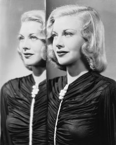Ginger Rogers classic beauty and hair
