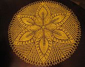 Lace knitted doily - table centerpiece