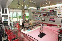 Inside Floridas Nuttiest Private Pink Caddy Convertible Bar