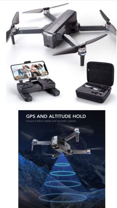 The 4K UHD camera infused with shock absorption reduces the blurriness, provides you clear and stable image (4K/3840x 2160p) through App; #drone #amazonproducts #amazondeals #dronepilot #DroneShots #photography #photogher #dronevideo #dronevideography #dronevideographer Drone Videography, Amazon Electronics, 4k Uhd, Stables, Image 4k, Hold On, App, Photography, Photograph
