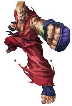 Paul Phoenix from Street Fighter X Tekken