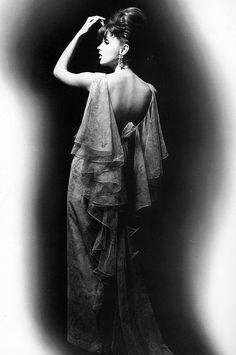 Dorothea McGowan in YSL by William Klein, 1962