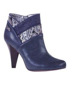 Another great find on #zulily! Blue Cher Bootie #zulilyfinds                                                                                                                                                     Más