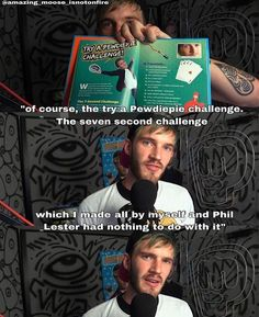 Phil Lester who? Pewds made this all by himself. ;)