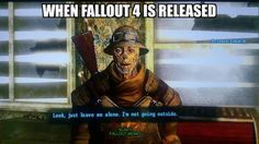 No work no school no girlfriend  fallout fallout 4