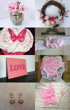 Pretty In Pink  by Meryem Rogan on Etsy--Pinned with TreasuryPin.com