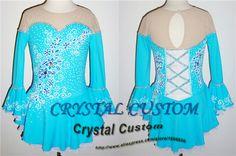 Hot Sales Figure Skating Dresses For Girls New Brand Skating Dress Competition Custom DR3210