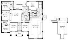 Lenox 6420 - 4 Bedrooms and 3.5 Baths | The House Designers
