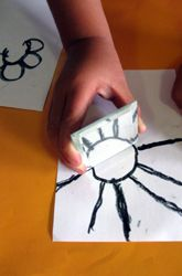 Activities: How Do Mirrors Work? I do this activity to show how to complete a picture for pre-k.
