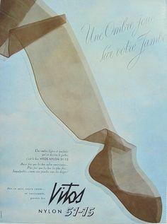 Publicité française véritable 1950