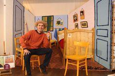 La Stanza di Van Gogh il capolavoro fatto a maglia dal 15 aprile 2015 da Onfuton Via Crema 14 - Porta Romana - MIlano VIENI A FARTI UN SELFIE D'AUTORE http://www.onfuton.com/van-gogh-al-fuorisalone/