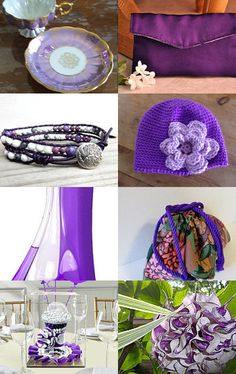 My clutch purse is featured here: Purple and White (6) by Barbra and Meredith on Etsy--Pinned with TreasuryPin.com  #clutch #clutchpurse #purses #handbags #bags #smallpurse #purpleclutch #eveningbag #giftsforher #giftideasforher #giftguide #holidaygiftguide