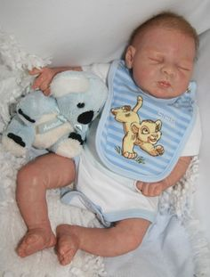 Angels of Delight Nursery Reborn Baby Boy Greta Sculpt by Elisa Marx