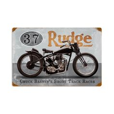 From the Classic Motorcycle licensed collection, this Basneys Rudge vintage metal sign measures 18 inches by 12 inches and weighs in at 2 lb(s). This vintage metal sign is hand made in the USA using heavy gauge american steel and a process known as sublimation, where the image is baked into a powder coating for …