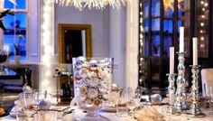Ideas para una decoración de Navidad LOW COST.                                                                                                                                                     Más