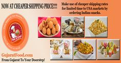 Snacking Gets a Whole New Dimension with Gujarat Food, The #Indian #Snacks #Online Store