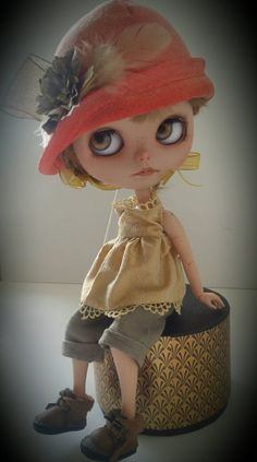 Blythe pants outfit.