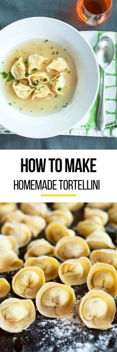 This homemade recipe for tortellini shows you how to make this delicious pasta from scratch. The amount of rolling and stuffing dough you'll do for this tortellini soup dish will make you feel like a serious pasta-making pro