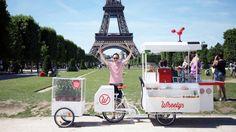 Sua decisão por empreender foi acertada: hoje, a rede de franquias Wheely's já vendeu mais de 500 cafeterias móveis para mais de 60 países.